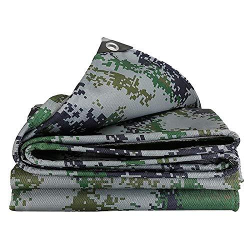 Enjoy4Life - Lona de camuflaje para jardín con ojales - Tienda impermeable impermeable impermeable 500 g/㎡ (tamaño: 2 x 2 m)
