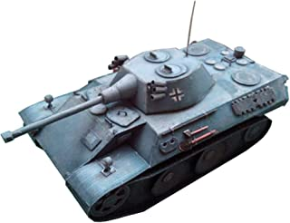 HugeHug Army Tank Assembly Paper Model Army Fan Collections Students Handcraft