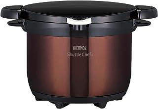 サーモス 真空保温調理器 シャトルシェフ 3.0L クリアブラウン KBG-3000 CBW