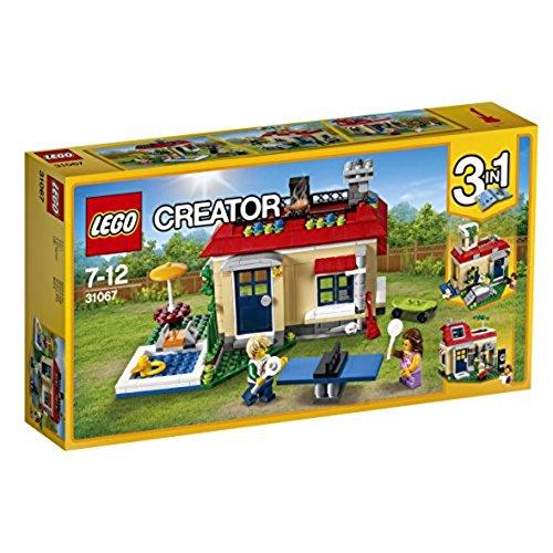 """Lego Creator 31067 - \""""Ferien am Pool Konstruktionsspiel, bunt"""