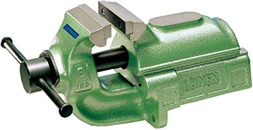 LEINEN Parallel-Schraubstock 100 mm Farbe grün