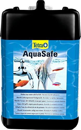 Tetra AquaSafe, Qualitäts-Wasseraufbereiter für fischgerechtes und naturnahes Aquariumwasser, 5 Liter Flasche