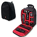 Waterproof SLR/DSLR Camera Backpack Shoulder Bag Travel Case for Canon Nikon Sony Digital Lens