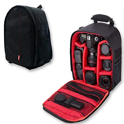 Waterproof SLR/DSLR Camera Backpack Shoulder Bag Travel Case for Canon...