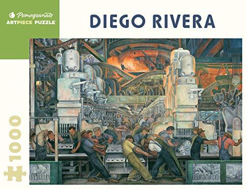Diego Rivera: Detroit Industry 1,000-piece Jigsaw Puzzle