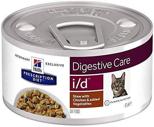 HILL'S PRESCRIPTION DIET Feline I/d Digestive Care Spezzatino mit Hähnchen und Gemüse für Katzen 82 g