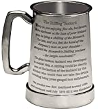 ✔️ [Pewter Tankard] - Pewter is an alloy of Tin (90%+) antimony and copper as well as has actually been used for making drinking vessels from the time of the Pharaohs. Pewter is an attractive product which almost has a life of its very own. ✔️ [Handm...