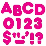 TREND enterprises, Inc. Deep Pink 2' Casual Uppercase Ready Letters