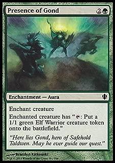 Magic: the Gathering - Presence of Gond (161/356) - Commander 2013