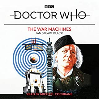 Doctor Who: The War Machines audiobook cover art