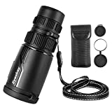 Eyeskey Seeker Pro HD Packet Monocular | Waterproof and Fog-Proof | Optimized Clear Optics | Compact Size Theater Monoculars for Birding Travelling (8-24X42)