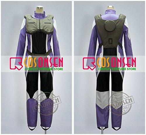 『機動戦士ガンダム00 ティエリア アーデ コスプレ衣装 (女性M)』の2枚目の画像