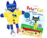 Pete the Cat and His Four Groovy Buttons Hand Puppet & Book Set