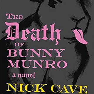 The Death of Bunny Munro audiobook cover art