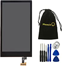 Mencia Cell Phone Parts LCD Display Digitizer Screen Assembly for HTC Desire 510 with Free Tools (Black) No Touch Digitizer