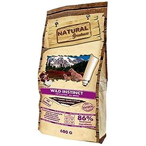 Natural Greatness Pienso seco para Gatos Receta Wild Instinct. Ultra Premium - Cat & Kiiten - Todas Las Razas. 600 g 2