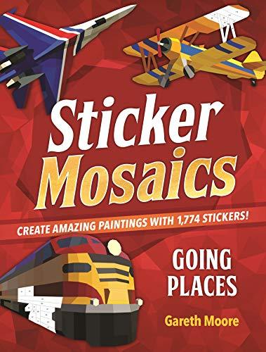 Sticker Mosaics: Going Places