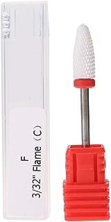 Nail Drill Bit, Punta per manicure, in ceramica, per unghie, elettrica, accessorio per la pulizia di unghie, ideale per ma...