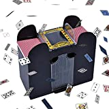 Automatic Card Shuffler for All Standard Size Cards, Six Decks of Cards Shuffle