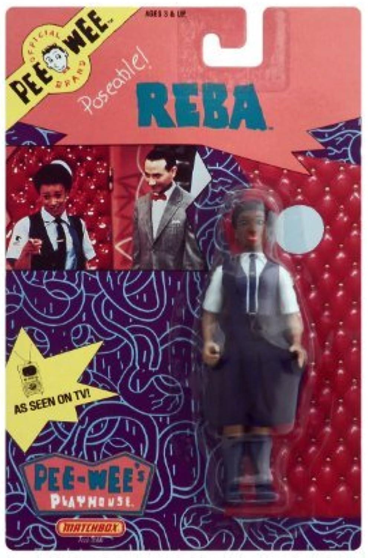 muy popular 1988 Pee Wee's Jugarhouse Poseable 5.5 Reba Acción Figura Figura Figura by Pee-Wee  lo último