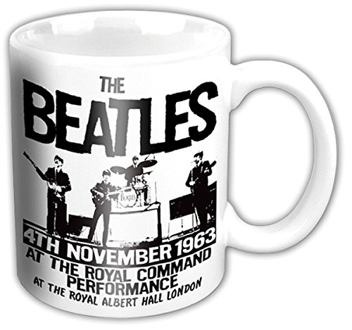 Rock Off 12661 - Taza, diseño The Beatles Prince Of Wales Theatre - Taza Prince of Wales Theathre The Beatles