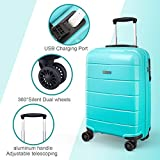 Zoom IMG-2 reyleo valigetta trolley bagaglio a