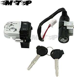 Ignition Switch Barrel Lock Seat Switch With 2 Master keys Sets For Honda PCX125 PCX150 PCX 125 150 First Generation 10 11 12