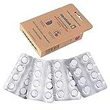 aquabook® – Reinigungstabletten für Flaschen 16 Stück, Bottle Cleaning Tabs, Flaschenreiniger, Reinigungstabs, Trinkblase Reinigung