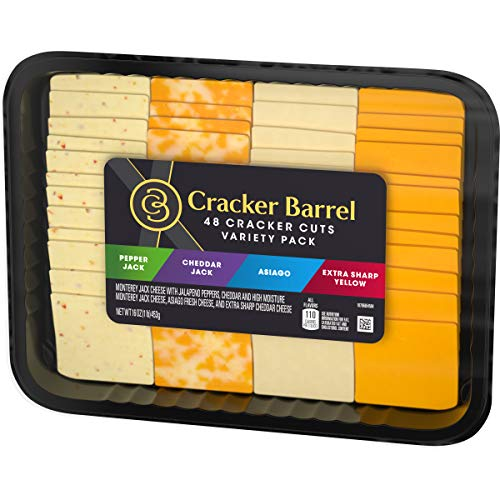 Cracker Barrel Cheese Slice Party Tray (48 Slices)