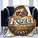 Sunny Rainy Day Kozel Beer Super Soft Sheep Blanket, Suitable for Adults Or Children's Sofa Or Bed