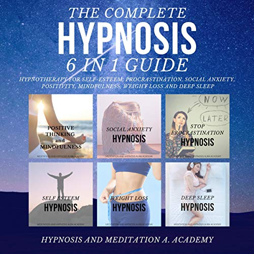 The Complete Hypnosis 6 in 1 Guide Titelbild