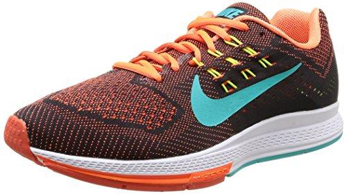 Nike Zoom Structure 18, Scarpe Sportive, Uomo, Multicolore (Hyper Crimson/Hypr JD-Blk-V), 42.5