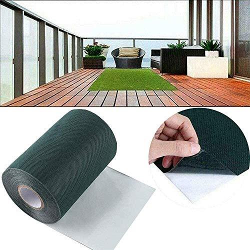 NMSLL Kunstrasen-Nahtband, selbstklebendes Verbindungsband zur Rasenbefestigung für Rasengras-Teppich 5m x 15cm