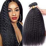 IFLY Tissage Bresilien en lot Kinky Straight Hair Cheveux Naturel Brésilienne 10 12 14 Pouces Tissage Cheveux Humain Bresilienne Yaki Raide Mèches Bresiliennes Naturelles