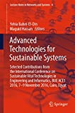 Advanced Technologies for Sustainable Systems: Selected Contributions from the International Conference on Sustainable Vital Technologies in Engineering ... and Systems Book 4) (English Edition)