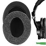 Geekria Comfort Linen Almohadillas de Repuesto para AuricularesATH-M50X, ATH-M10, ATH-M20X, ATH-M30X, ATH-M40X, ATH-ANC9,Auriculares Almohadillas , Headphone Ear Covers