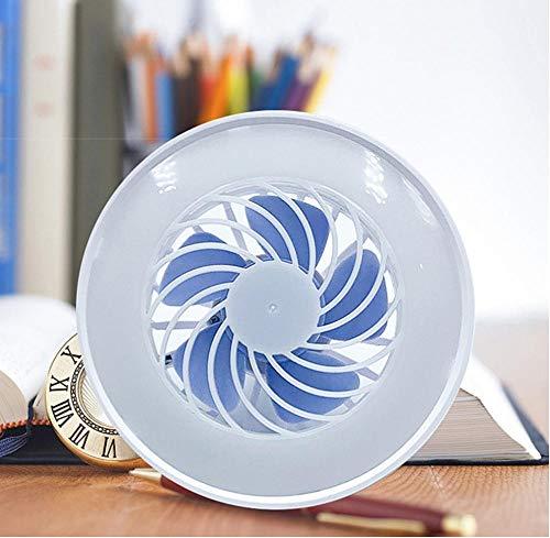 Ventilador De Verano Portátil Con Luz De Escritorio Led Enfriador Mini Ventilador Práctico Pequeño Ventilador De Escritorio Lámpara Para Niños Lectura Nocturna Para Niños