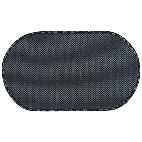Envision Home 413001 Microfiber XL Pet Bowl Mat, 16 Inch x 27.5 Inch, Taupe