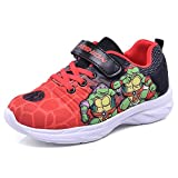 SPKIDS Kids Boys Teenage Mutant Ninja Turtles Sneakers Breathable Sports Shoes(red,11 Little_Kid)