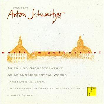 Schweitzer: Arien und Orchesterwerke (Musik am Gothaer Hof)