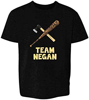 Pop Threads Team Negan Lucille and Axe Youth Kids T-Shirt