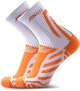 Black STAZSX Socks Thin Cotton Socks Mens Short Tube Socks Breathable Riding Socks Outdoor Sports Cotton Socks