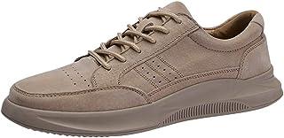 [CHENJUAN] 靴運動靴男性ファッションカジュアルユーストレンドシンプルレースアップで柔軟なアウトソールスポーツシューズ