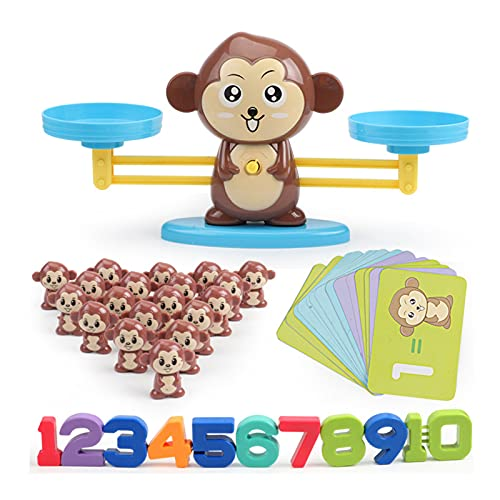 Aoten Monkey Balance Math Game Interesting Educational Children Learning Toys Creative Gift for Boy and Girl