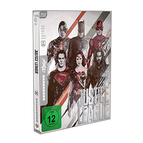 Justice League – Mondo Steelbook  ( Blu Ray)