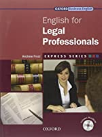 Express Series: English for Legal Professionals: A short, specialist English course