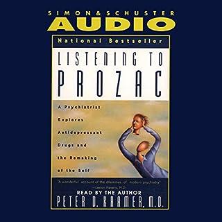 Listening to Prozac audiobook cover art