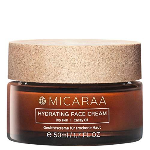 MICARAA Aloe Vera Feuchtigkeits-Creme Für Das Gesicht, Vegane Gesichtscreme für trockene Haut , Anti-Aging Gesichtspflege Mit Bio-Ölen, Naturkosmetik Deutschland