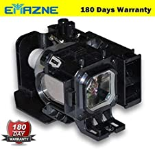 Emazne NP05LP Projector Replacement Compatible Lamp with Housing for NEC NP901WG NEC NP905 NEC NP905G NEC NP905G2 NEC NP91...