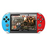 Handheld Game Console with 10000 Games 16G Portable Video Game Console for Children and Adults, Retro Game Console 7 inch HD Screen, Support FC, GB, GBA, GBC, MD, NES, GG, SMS, SFC, CPS